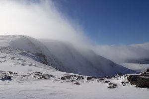 Mist above Coire an Lochain